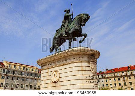 King Joao Statue