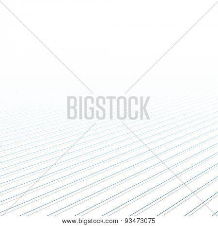 Lines perspective background. Vector illustration.