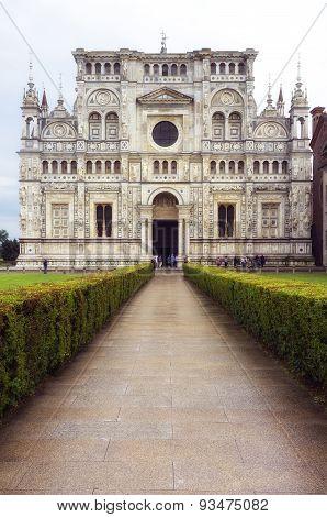 Certosa di Pavia. Color image