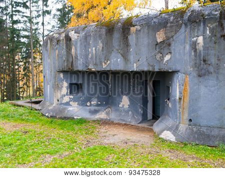 Army bunker