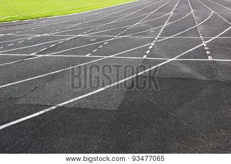 Treadmill at stadium
