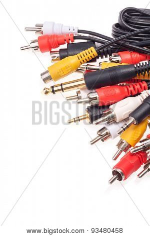 Coaxial television cables