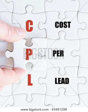 Last Puzzle Piece With Business Acronym Cpl