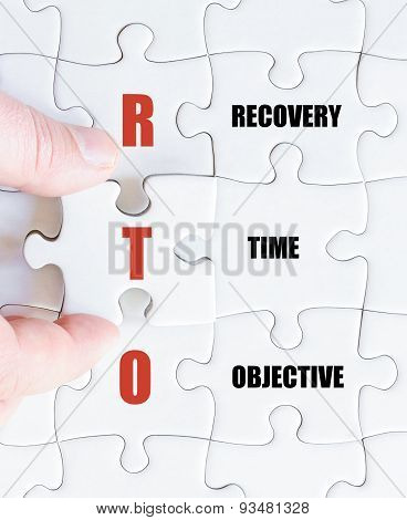 Last Puzzle Piece With Business Acronym Rto