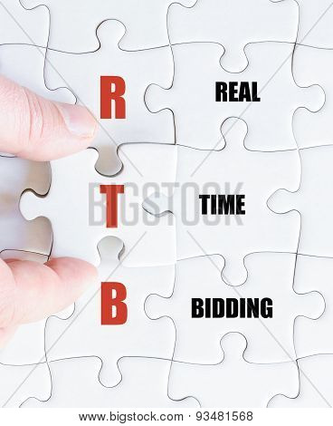 Last Puzzle Piece With Business Acronym Rtb