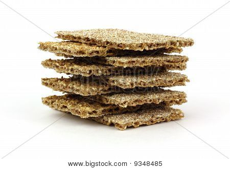 Stack Sesame And Rye Crackers