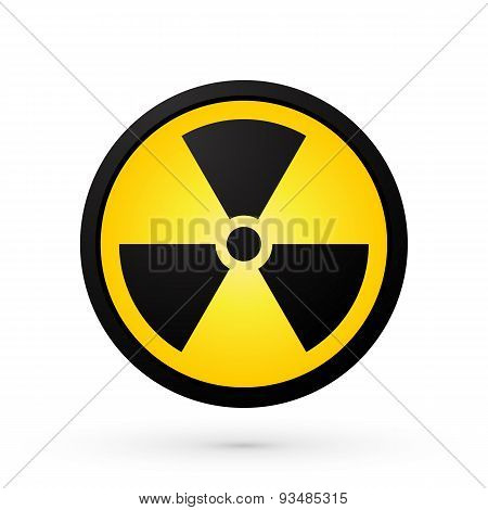 Simple Radioactivity Symbol