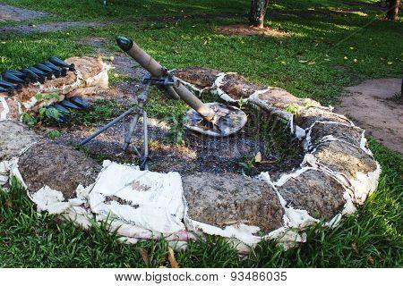 Sovietic  Old Mortar