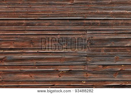 Old Brown Wooden Background