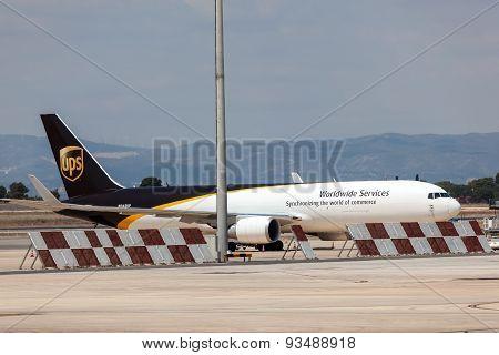 Ups Cargo Aircraft