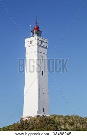 Blavand lighthouse in Denmark