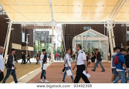 MILAN, ITALY - May 26: Milano Expo, universal exposition on the theme of food on May 26, 2015 in Milan, Italy.