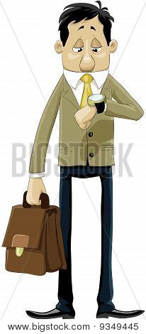 Hombre puntual