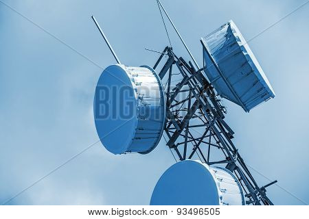 Cellular Antenna Closeup