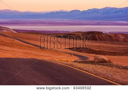 Death Valley Raw Scenery