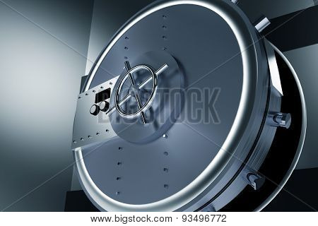 Huge Safe Bank Vault