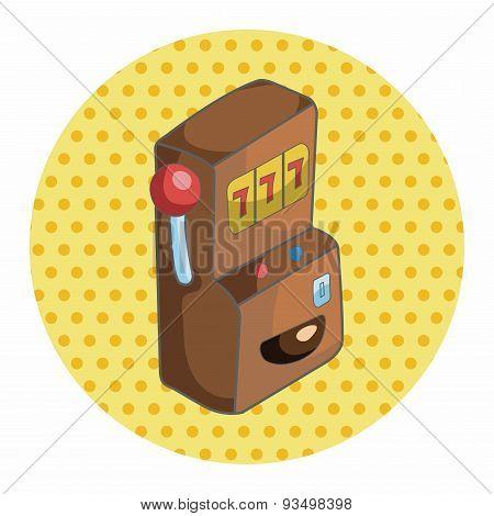 Casino Slot Machine Theme Elements