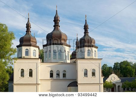 Ukrainian Orthodox Church And Domes