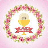 picture of communion-cup  - my first communion design - JPG