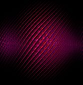 pic of cosmic  - Red abstract vector fractal cosmic spiral and lines - JPG