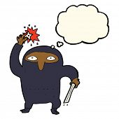 foto of ninja  - cartoon ninja - JPG