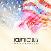 stock photo of usa flag  - Fourth of July - JPG