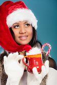 stock photo of mug shot  - Christmas time concept - JPG