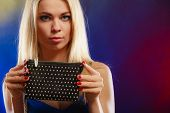 picture of clutch  - Fashion elegant evening outfit - JPG