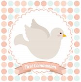 picture of communion  - first communion design - JPG