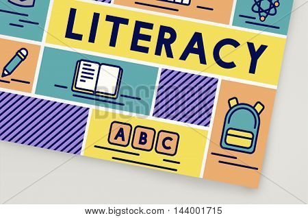 Literacy Study Reading Learning Wisdom Concept