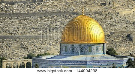 Al-aks Mosque of the Dome of the Rock, old Jerusalem, Israel