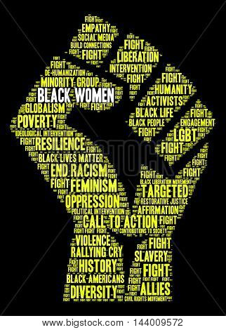 Black Women Word Cloud