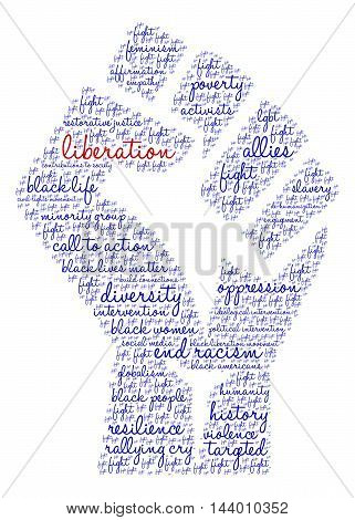Liberation Word Cloud