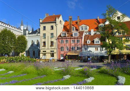 Livu square is a major tourist sightseeing of old Riga. Once, the square was a site of the ancient Riga River that was important shipping route for transporting Latvian grain up to the 16th century