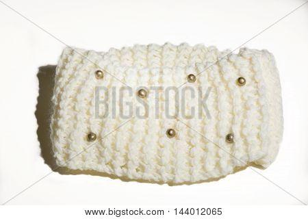 Men or women fshionable accesory handmade of wool