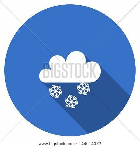 snowing vector icon