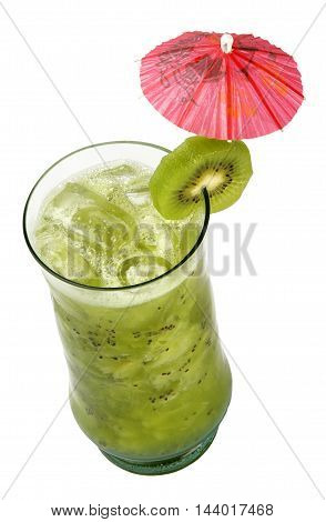 Fruit Cocktail. Traditional Cold Drink In The Summer.