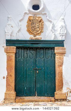 Ornate Historic Doorway