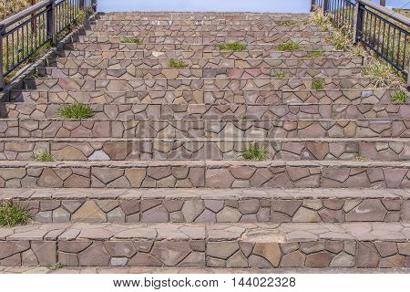 Marble Stairs Steps Or Stone Staircase In Park
