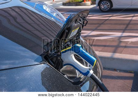 power supply for Charging of electric car.