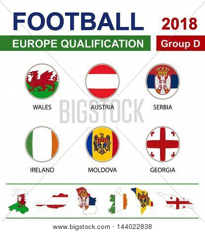 Football 2018, Europe Qualification, Group D