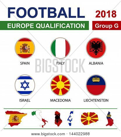 Football 2018, Europe Qualification, Group G