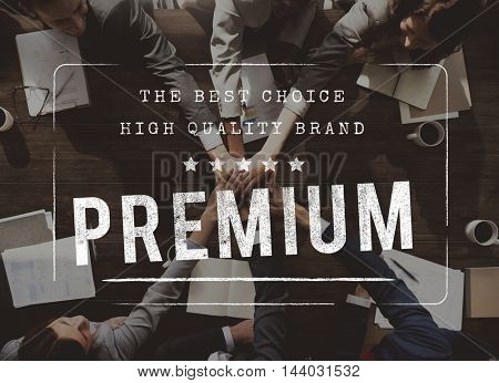 Premium Quality Value Worth Best Graphic Concept
