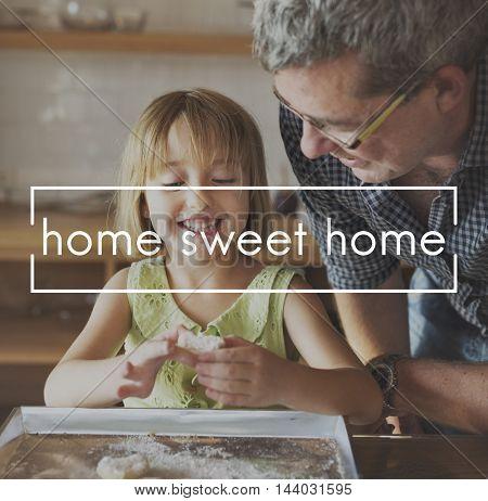 Home Sweet Home Bake Dessert Concept