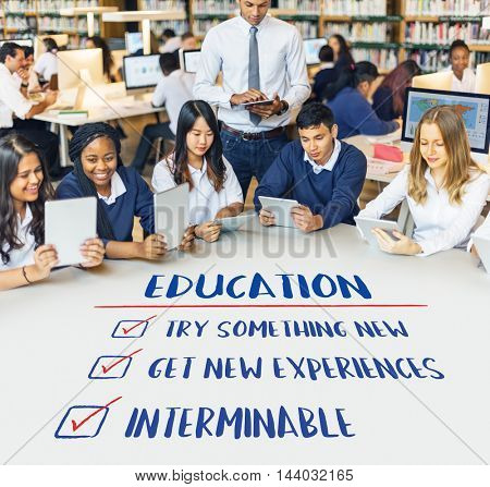 Education Try Something New Development Concept