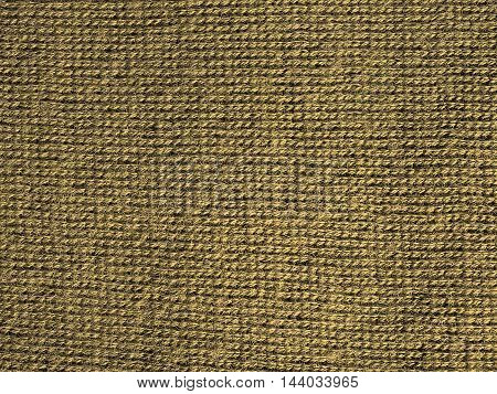 Olive fabric texture useful as a background vintage sepia