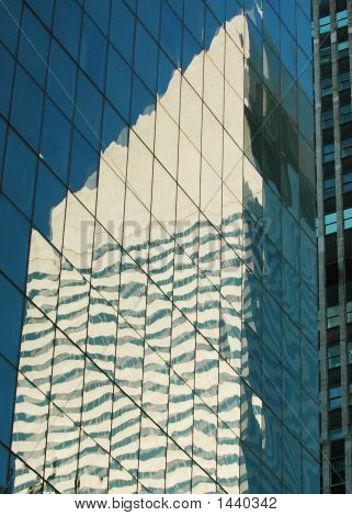 Citicorp Building In New York Reflection