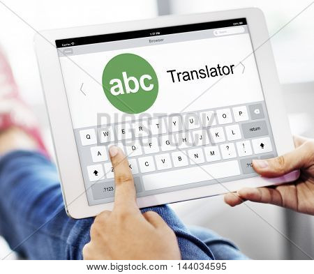 Translator Dictionary Language Interpreter Concept
