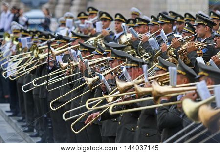 Independence Day Parade In Kyiv, Ukraine