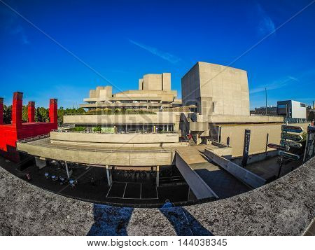 National Theatre In London (hdr)